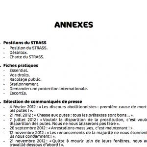 Annexe rapport d'activité 2012