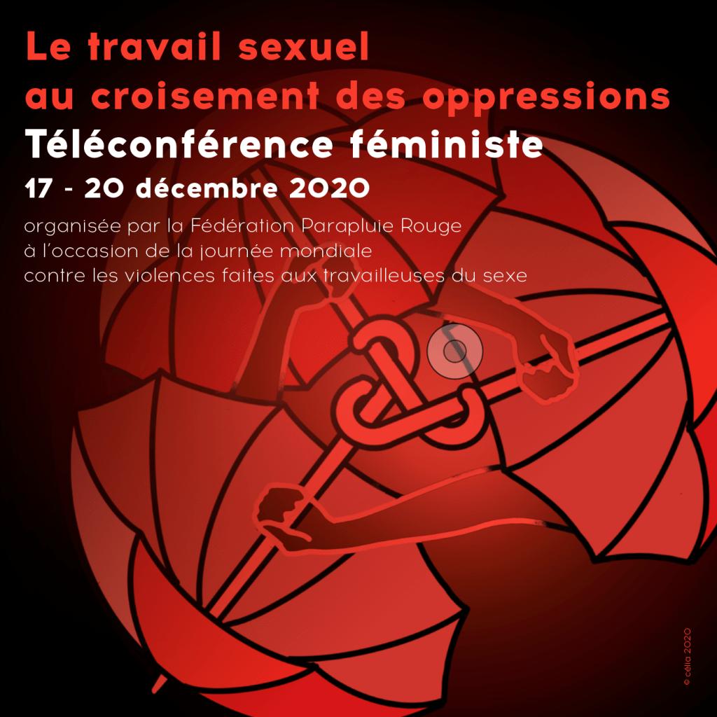 """Téléconférence féministe """"le travail sexuel au croisement des oppressions"""""""